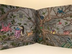 #TheNightVoyage The Night Voyage Coloring Book Daria Song #NappingInTheTrees #prismacolor premier