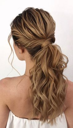 53 Best Ponytail Hairstyles { Low and High Ponytails } To Inspire - Ponytail hai. - 53 Best Ponytail Hairstyles { Low and High Ponytails } To Inspire – Ponytail hairstyles Cute Ponytail Hairstyles, Twist Ponytail, Trendy Hairstyles, Formal Ponytail, Ponytail Easy, Low Pony Hairstyles, Braided Hairstyles, Party Hairstyles For Long Hair, Black Hairstyles