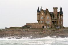 Chateau Turpault - pointe de la lande à Quiberon, Bretagne