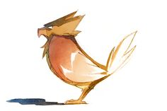 Watercolor Pokemon! by Nicholas Kole, via Behance