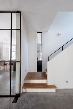 Massive inspiration boost!! This house by Vocus Architects  is really my cup of tea :-)             Concrete floors,             ...