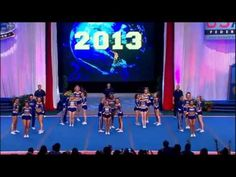 California Allstars Smoed Worlds 2013. Still my favorite team AND routine! SMOED FOR LIFE