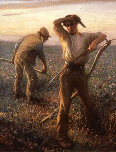 Sir George Clausen RA | Victorian/ Edwardian/Genre painter | Tutt'Art@ | Pittura * Scultura * Poesia * Musica |