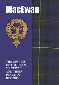 MacEwan Clan Badge History Scottish Family Name Origins Mini Book - For Everything Genealogy