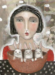 Artodyssey: Kitty Jujube aka Sandi FitzGerald