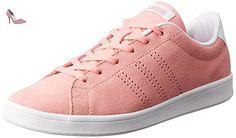 adidas Advantage Clean Qt W, Sneaker Basses Femme, Rose (Rosray/Rosray/Ftwbla), 39 EU - Chaussures adidas (*Partner-Link)