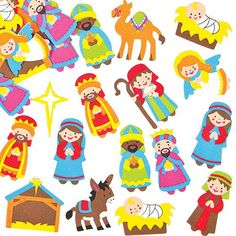 Nativity Foam Stickers for Children to Decorate Christmas Crafts Cards and Collage (Pack of 96) Baker Ross http://www.amazon.com/dp/B00F8HWHXS/ref=cm_sw_r_pi_dp_1tUiwb1HPHVB6