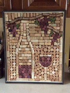 Best Wine Cork Ideas For Home Decorations 12012 Diy Wine Bottle Crafts diy wine bottle cork crafts Wine Craft, Wine Cork Crafts, Wine Bottle Crafts, Diy Bottle, Crafts To Do, Arts And Crafts, Diy Crafts, Wine Cork Projects, Craft Projects