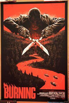 the burning 1981 80s horror films pinterest the o
