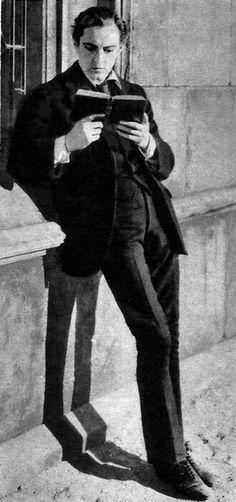 John Barrymore as Sherlock Holmes.