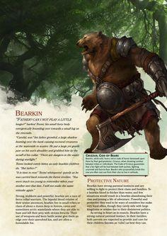 Bearkin by tr1lobyte