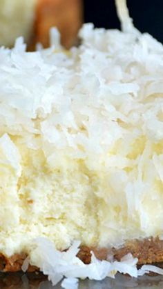 Coconut Cheesecake ~ Deliciousness!