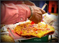 Dal-pakwaan Food in Pushkar, Rajasthan.