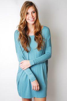 Piko tunic dress long sleeve
