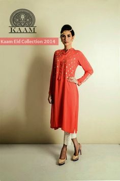 Kaam Eid Collection 2014- 2015|Designer Embroidered Outfit for Events | She9pk