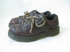 Vintage 90'sDoc Marten Made in England Chunky by TimeBombVintage
