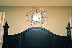 DIY Sunburst Mirror for under fifteen bucks!