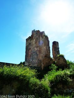 Ruinas del castillo de Escalona en Toledo. Toledo, ruins of Castle of Escalona