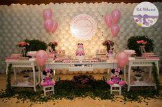Festa Infantil   Minnie Rosa da Valentina 2 anos   Belo Horizonte/MG
