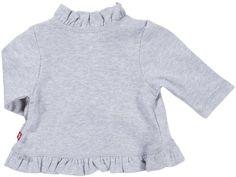 Turtleneck sweater  Zutano Girls' Heathered Solid Ruffle Cardigan – Gray – 2T Big SALE