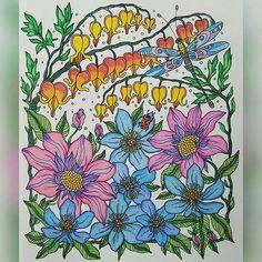 Instagram media arte_e_colorir - Very delicate!  Use #arte_e_colorir para aparecer aqui!  @Regrann from @cora_colors -  #dagdrömmar #daydreamscolouring #hannakarlzon #prismacolors #coloring #coloriage #coloriagespouradultes #coloriageantistress #arttherapie #kleurenvoorvolwassenen #kleuren #livrocoloriramo #bayan_boyan #beautifulcoloring #divasdasartes #arte_e_colorir #Regrann