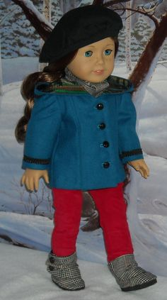 Jacket, Jeans and Boots Outfit for Saige or Julie $85.00, via Etsy.