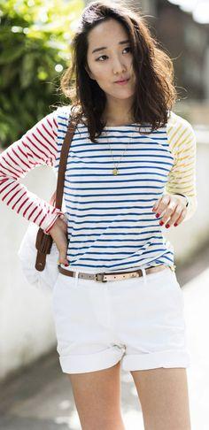 twist on classic stripes