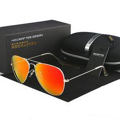 48263272b9 FuzWeb Aviator Polarized Sunglasses 3025 Mirrored Reflective Lens UV400  protected Polarized Aviator Sunglasses