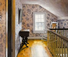 Nick Patten - room at the top of the stairs