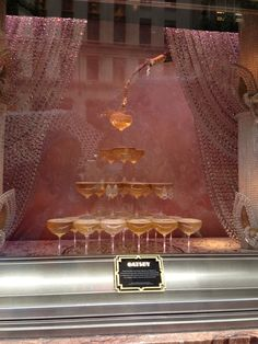 Tiffany's Display Window inspired by The Great Gatsby.