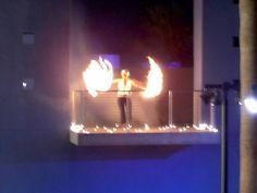 Phoenix Breath of Fire poi spinning