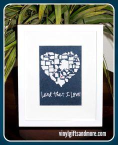 Super Saturday Crafts: Land that I Love!