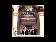 W.F. Bach Duets for Flute and Oboe - YouTube