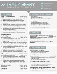 15 Best Resume folder images | Resume, Manager resume ...