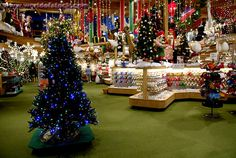 Bronners in Frankenmuth, Michigan!  If you visit Frankenmuth, you must visit Bronners Christmas Wonderland or your life will not be complete!