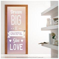 Dream Big Be Door Mural