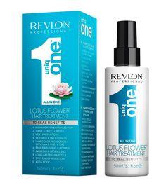 Revlon - Tratamiento cabello todo en uno UniqOne 150ml - Flor de Loto