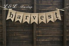 Thanksgiving Bunting #Thanksgiving #Decorations #Fall #Banner #Bunting