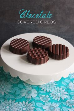Gluten-Free Chocolate Covered Oreos! Make it Gluten Free and visit www.absolutelygf.com for more! #desserts #recipes #glutenfree