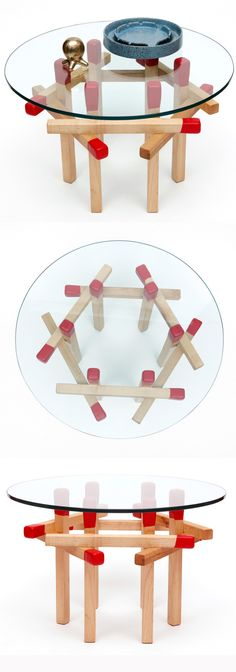 Match Stick End Table | Shared by LION