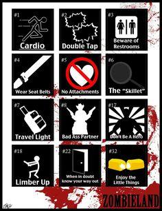 Basic Rules for surviving the zombie apocalypse @kikiramirez @exec101 @juano_mc @juanmanuelleal