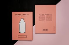 LOOK LATERAL - Fresh Art on Paper - ISSUE 1 by Nicole Bertani, via Behance
