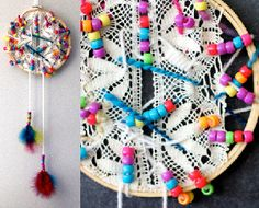Dreamy Lace Dream Catcher