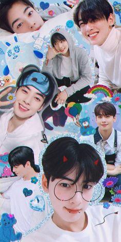 Bts Laptop Wallpaper, Astro Wallpaper, Suho, Pop Crush, Anime Korea, Cha Eunwoo Astro, Korean Words Learning, Cute Korean Boys, Foto Jungkook
