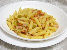 Macarrones con atún y verduras - Mis cosillas de Cocina