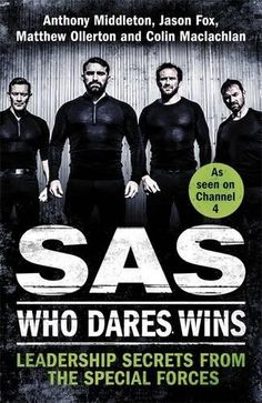 From 2.80:Sas: Who Dares Wins: Leadership Secrets From The Special Forces | Shopods.com