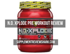BSN N.O. Xplode Pre-workout Review, does it still live up to it's name? Read Here: http://www.supplementreviewshark.com/n-o-xplode-pre-workout-review/ #supplementreviewshark #BSN