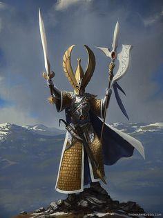 ☆ Warhammer: Phoenix Guard :¦: Artist Thomas Wievegg ☆