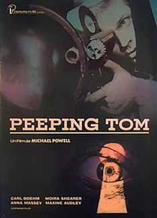 Peeping Tom- 1960.  This ruined Michael Powell's career in England.  So ahead of its time.  One of my all time favorites.