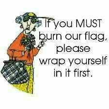 Proud to be an American... only Maxine has the guts to say this!